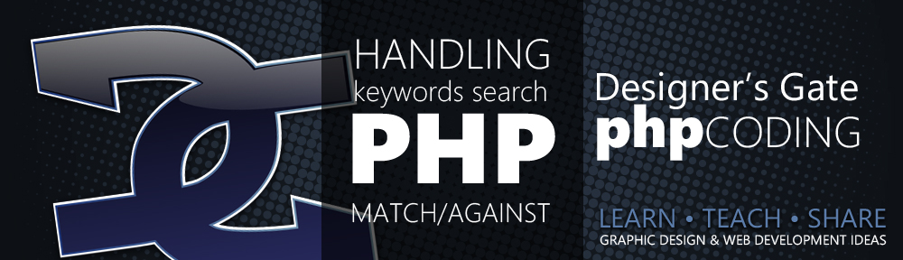 DG - PHP MATCH/AGAINST