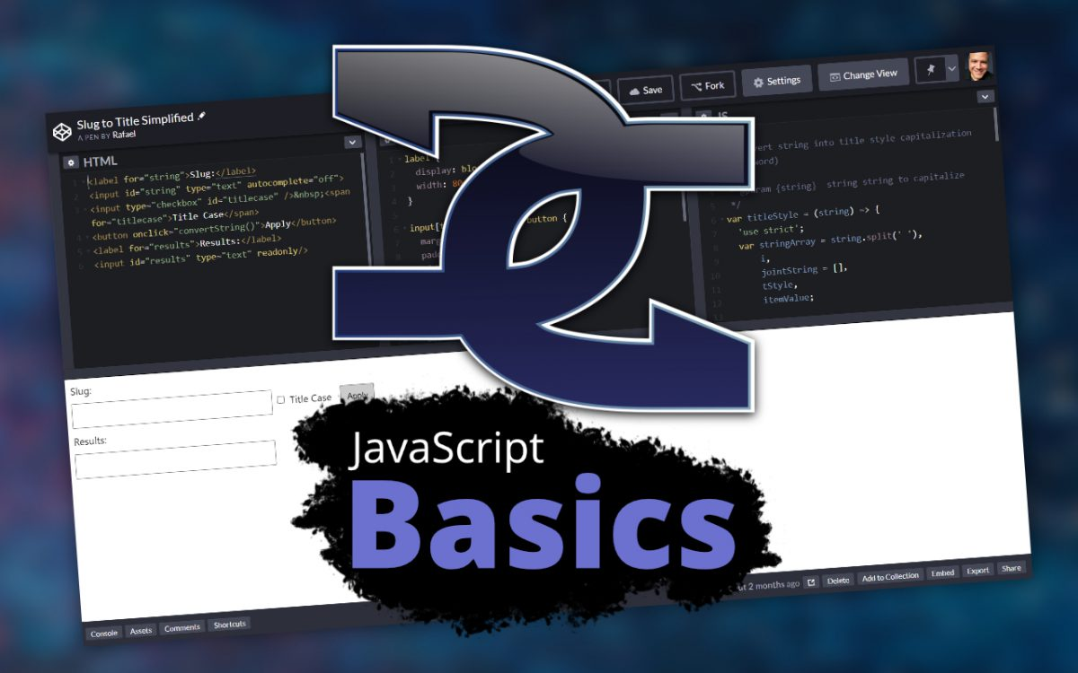 Basic Javascript Tutorial with Functional Code
