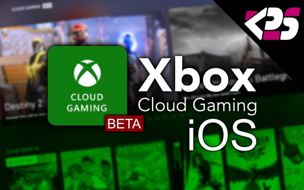 Xbox Cloud Gaming Beta on iOS