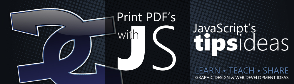 Print PDF files with JavaScript/PHP
