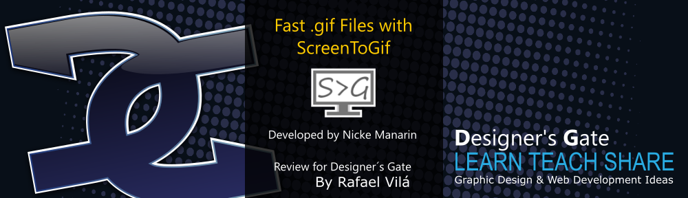 Fast .Gif files with ScreenToGif